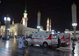 الجهات الحكومية تكثّف خدماتها لراحة المصلين والمعتكفين بالمسجد النبوي خلال العشر الأواخر من رمضان