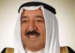 أمير الكويت يتسلم رسالة من الرئيس الفلسطيني