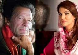 Reham Khan alleges Imran Khan of being homosexual