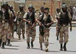 Rangers official martyred in encounter with target killers in Karachi