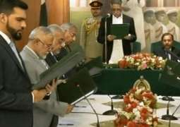 Seven-member interim Sindh cabinet sworn in