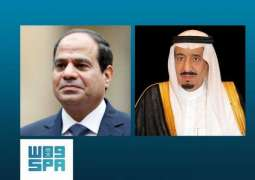 الرئيس المصري يثمن اهتمام خادم الحرمين الشريفين لعقد اجتماع لدعم الأردن