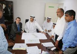 رئيس جامعة الخليج العربي يتابع إنجاز الاعمال التأهيلية لمدينة الملك عبدالله بن عبدالعزيز الطبية