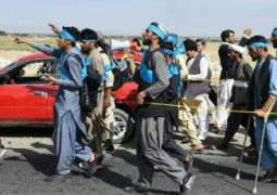 Blistered and hungry: Afghans walk hundreds of kilometres for peace