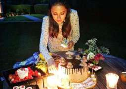Ainy Jaffri shares pictures from birthday party
