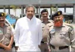 سابق وزیر اعظم شاہد خاقان عباسی دا چالان ہو گیا