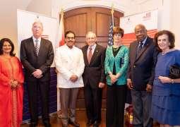 سفارة مملكة البحرين بواشنطن بالتعاون مع جمعية الصداقة البحرينية الأمريكية تنظم مأدبة إفطار بمناسبة شهر رمضان الكريم