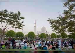 1.2 مليون مصل وزائر استقبلهم جامع الشيخ زايد الكبير خلال رمضان