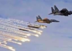 إصابات في قصف للطيران الحربي الإسرائيلي على مواقع بقطاع غزة