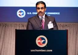 معالي سفير مملكة البحرين يشارك في القمة الاستثمارية (اختار الولايات المتحدة الأمريكية) .. ويشيد بما حققته المملكة من بيئة اقتصادية ناجحة وجاذبة للاستثمارات الأمريكية والعالمية