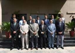 Caretaker Science & Technology Minister visits NUST