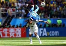 كأس العالم 2018 : منتخب البرازيل يفوز على كوستاريكا بهدفين دون مقابل