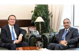 وزير الأشغال: نتطلع للاستفادة من خبرات الصين في مجال التشييد والطرق