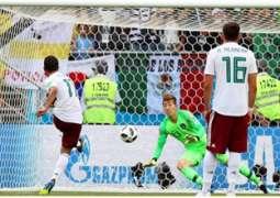 المكسيك تقترب من بلوغ الدور الثاني لكأس العالم لكرة القدم بفوزها على كوريا الجنوبية