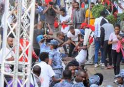 One person killed, 154 wounded in blast against Ethiopian PM's rally