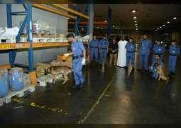 جمارك دبي تنظم 6 دورات تدريبية متخصصة في الأساليب الحديثة لتهريب المخدرات