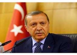 أردوغان يعلن فوزه بالانتخابات الرئاسية التركية بنسبة 52.55 بالمئة