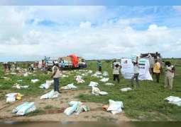 """""""خليفة الإنسانية"""" تنفذ المرحلة الأولى من إغاثة الصومال في ولاية جوبالاند"""