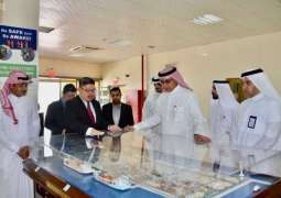رئيس الهيئة العامة للموانئ يزور ميناء الملك عبدالعزيز بالدمام