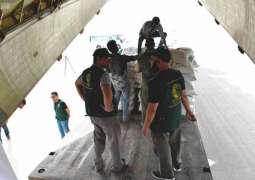 أولى طلائع الجسر الجوي الإغاثي السعودي للحديدة تغادر الرياض إلى عدن