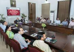 Minister for Livestock Punjab Mian Nauman Kabir visits UVAS