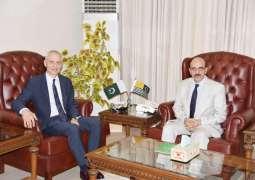 Swiss Ambassador calls on President Azad Kashmir