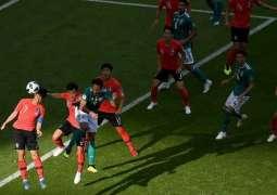 كأس العالم 2018 :  كوريا الجنوبية تتغلب على ألمانيا في الوقت الإضافي بهدفين نظيفين ويودعان المونديال