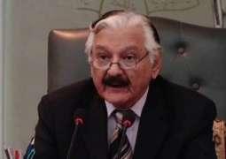 زعيم حزب الرابطة الإسلامية (نواز) في مجلس الشيوخ الباكستاني: عقد الانتخابات العامة بحرة ونزيهة مسؤولية لجنة الانتخابات الباكستانية