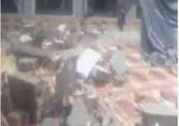 Roof of a mosque collapses in Lahore, 8 injured