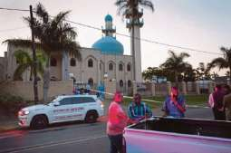 Two stabbed to death in South Africa mosque, assailant killed: police