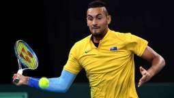 Struggling Kyrgios scratches out 'terrible' Stuttgart win