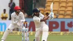 India v Afghanistan Test scoreboard