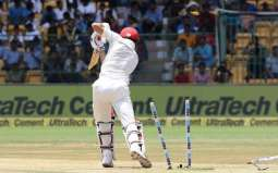 Afghanistan 109 all out, follow on in debut Test
