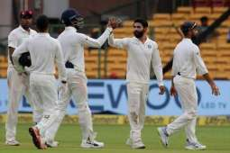Afghanistan thrashed by India inside two days in debut Test