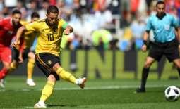 بلجيكا تقصي تونس من منافسات بطولة كأس العالم 2018 لكرة القدم