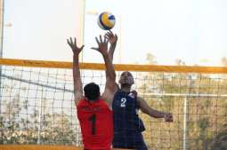 اكتمال الفرق المتأهلة بدور الثمانية ببطولة البحرين الشاطئية للكرة الطائرة
