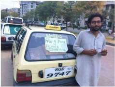 Taxi driver in capital providing free rides to patients and poor