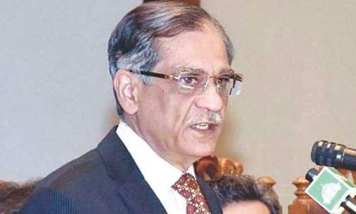 Supreme Court (SC) will work towards construction of dams: Chief Justice of Pakistan Justice Mian Saqib Nisar