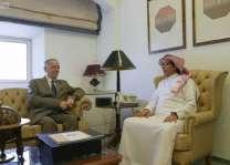 وكيل وزارة الخارجية لشؤون الدبلوماسية العامة يلتقي سفير الأردن