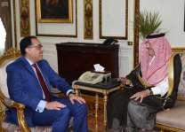 رئيس الوزراء المصري يستقبل سفير المملكة لدى مصر