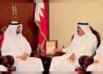 خالد بن خليفة آل خليفة يستقبل سفير الدولة لدى البحرين