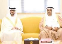 مستشار رئيس الوزراء البحريني يلتقي سفير الدولة