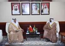 البواردي يبحث التعاون مع السفير البحريني ومسؤول ياباني