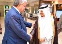 وزير الداخلية اللبناني يصل إلى جدة