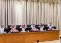 أمير الجوف يرأس اجتماع وكلاء الإمارة ومحافظي المحافظات