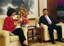 Chinese president meets UNESCO DG