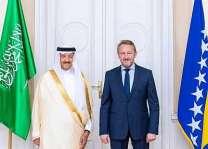 الرئيس البوسني يستقبل الأمير سلطان بن سلمان