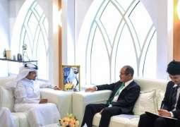 Consul-General of Japan in Dubai visits Sharjah Book Authority