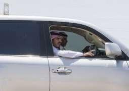 أمير الجوف يتفقد الخدمات البلدية داخل أحياء محافظة القريات
