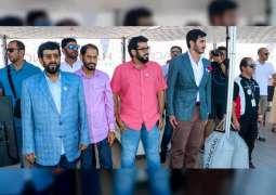 طحنون بن محمد يشهد تتويج فريق أبوظبي بطلا للجولة الثالثة من بطولة العالم لزوارق الفورمولا 1 في إيفيان